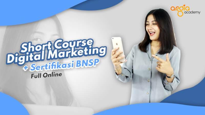 Kursus Online Digital Marketing Plus Sertifikasi BNSP